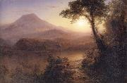 Frederic Edwin Church Tropical Scenery oil painting picture wholesale