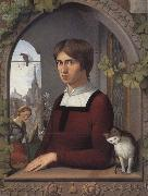 Friedrich overbeck Portrait of the Painter Franz Pforr oil painting artist