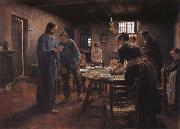 Fritz von Uhde Grace oil painting picture wholesale