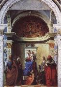 Giovanni Bellini Saint Zaccaria Altarpiece oil painting picture wholesale