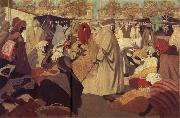 Henri Evenepoel Orange Market in Blidah oil painting artist