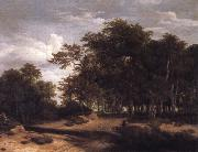 Jacob van Ruisdael The Great forest oil painting picture wholesale