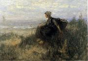 Jozef  Israels On the Dunes oil painting picture wholesale