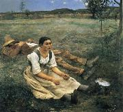 Jules Bastien-Lepage The Haymakers oil painting picture wholesale