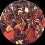 Domenico Ghirlandaio The adoration of the Konige oil painting picture wholesale