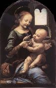 LEONARDO da Vinci The madonna with the Children oil painting picture wholesale