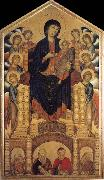 Cimabue Throning madonna with eight angels and four prophets oil painting picture wholesale