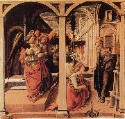 Fra Filippo Lippi The Verkundigung oil painting picture wholesale