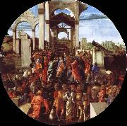 Sandro Botticelli The adoration of the Konige oil painting picture wholesale