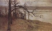 Levitan, Isaak Flood at the Sura oil painting picture wholesale