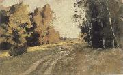 Levitan, Isaak Evening forest ways oil painting picture wholesale