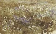 Levitan, Isaak Bluhende meadow oil painting picture wholesale