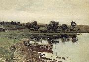 Levitan, Isaak At Flubchen oil painting picture wholesale