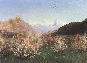Levitan, Isaak Fruhling in Italy oil painting picture wholesale