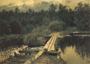 Levitan, Isaak An Der Untiefe oil painting picture wholesale