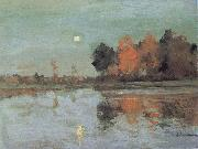 Levitan, Isaak Dam ring moon oil painting picture wholesale