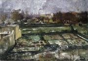 Lovis Corinth View from the Studio oil painting artist
