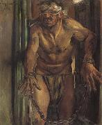 Lovis Corinth Samson Blinded oil painting artist