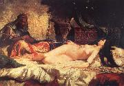 Mariano Fortuny y Marsal Odalisque oil painting artist