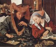 Marinus van Reymerswaele Money-changer and his wife oil painting picture wholesale