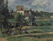 Paul Cezanne Mill on the Couleuvre at Pontoise oil painting picture wholesale
