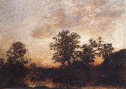 Ralph Blakelock After sundown oil painting artist
