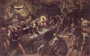 Tintoretto The communion oil painting