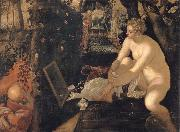Tintoretto Susanna and the elders oil painting