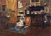 William Merritt Chase Studio Interior oil painting picture wholesale