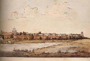 unknow artist East Side of the Royal Palaces in the Fort,Shahjahanabad oil painting picture wholesale