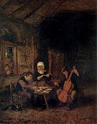Adriaen van ostade Village Musicians oil painting picture wholesale