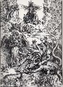 Albrecht Durer The Apocalyptic woman and the seven-Headed Dragon oil painting picture wholesale