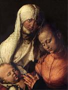 Albrecht Durer The Virgin and child with St.Anne oil painting picture wholesale