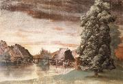 Albrecht Durer The Willow mills on the pegnitz oil painting picture wholesale