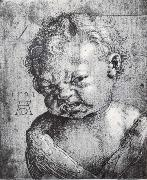 Albrecht Durer Head of a Weeping cherub oil painting reproduction