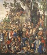 Albrecht Durer The Martyrdom of the ten thousand oil painting picture wholesale