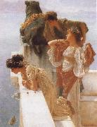 Alma-Tadema, Sir Lawrence A Coign of Vantage oil painting picture wholesale