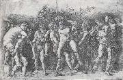 Andrea Mantegna A Bacchanal with Silenus oil painting picture wholesale