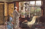 Atkinson Grimshaw Spring oil painting picture wholesale