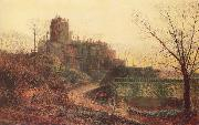 Atkinson Grimshaw The Deserted House oil painting picture wholesale