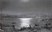 Atkinson Grimshaw Scarborough Bay oil painting picture wholesale