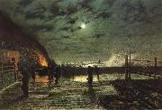 Atkinson Grimshaw In Peril oil painting picture wholesale