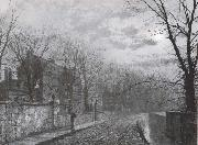 Atkinson Grimshaw St Anne-s Lane,Headingley oil painting picture wholesale