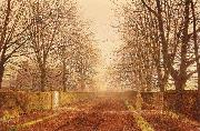 Atkinson Grimshaw Golden Light oil painting picture wholesale