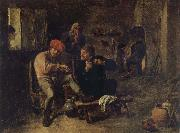 BROUWER, Adriaen Scene in a Tavern oil painting picture wholesale