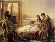 Baron Pierre Narcisse Guerin Dido and Aeneas oil