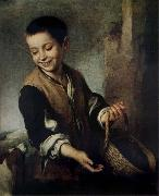 Bartolome Esteban Murillo Boy with A Dog Sweden oil painting reproduction