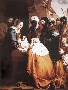 Bartolome Esteban Murillo The adoracion of the Kings oil painting picture wholesale