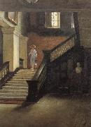 Bernard Hall Staircase to Public Library oil painting picture wholesale