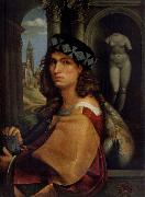 CAPRIOLO, Domenico Portrait of a man oil